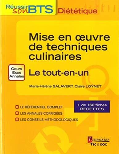 Mise en oeuvre des techniques culinaires : le tout-en-un