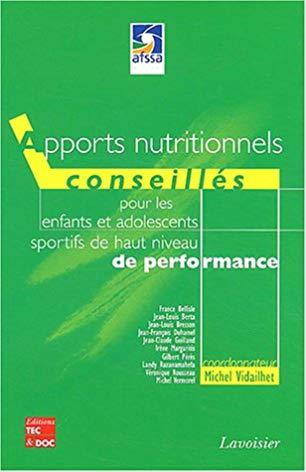 Apports nutritionnels conseillés pour les enfants et les adolescents sportifs de haut niveau de performance
