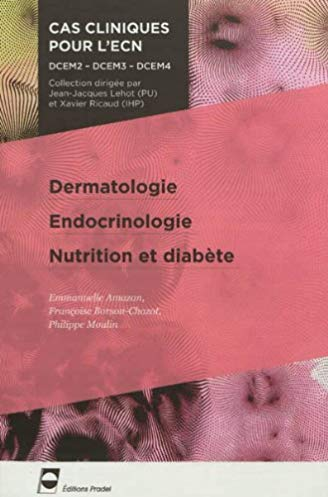Dermatologie – endocrinologie – nutrition et diabète: DCEM2 – DCEM3 – DCEM4.