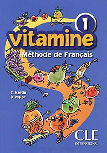 Vitamine – niveau 1 – livre de l'élève