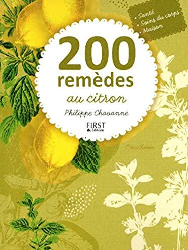200 remèdes au citron