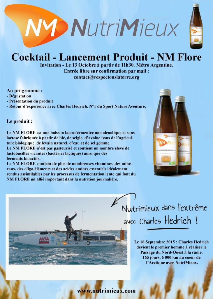 Lancement produit NM Flore - Invitation personnelle