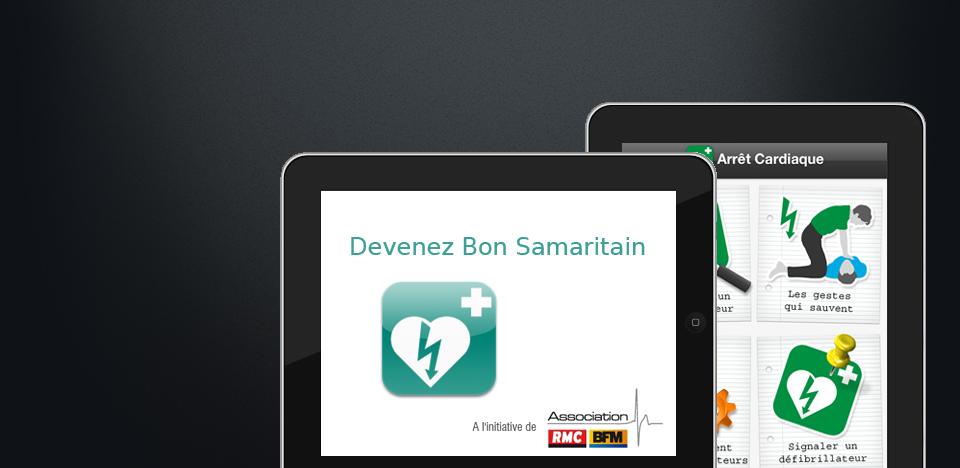Application Arrêt Cardiaque - Devenez Bon Samaritain