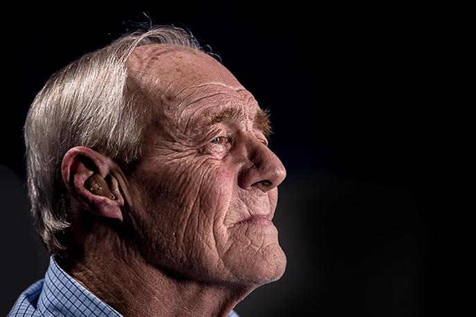 Patient chez un audioprothésiste