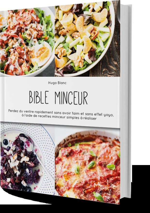 Bible Minceur, de Hugo Blanc – Livre Nutrition
