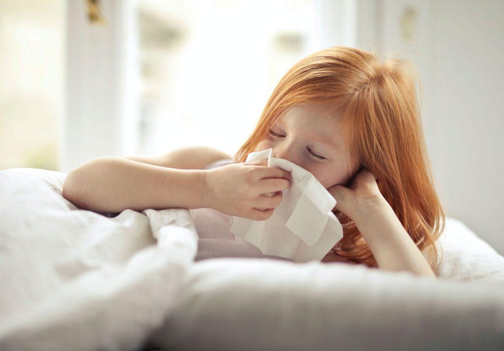 Grippe chez l'enfant : comment la soigner ?