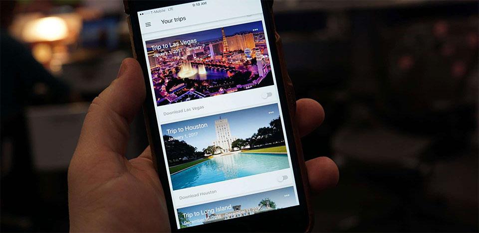 Google Trips : votre nouveau compagnon de voyage